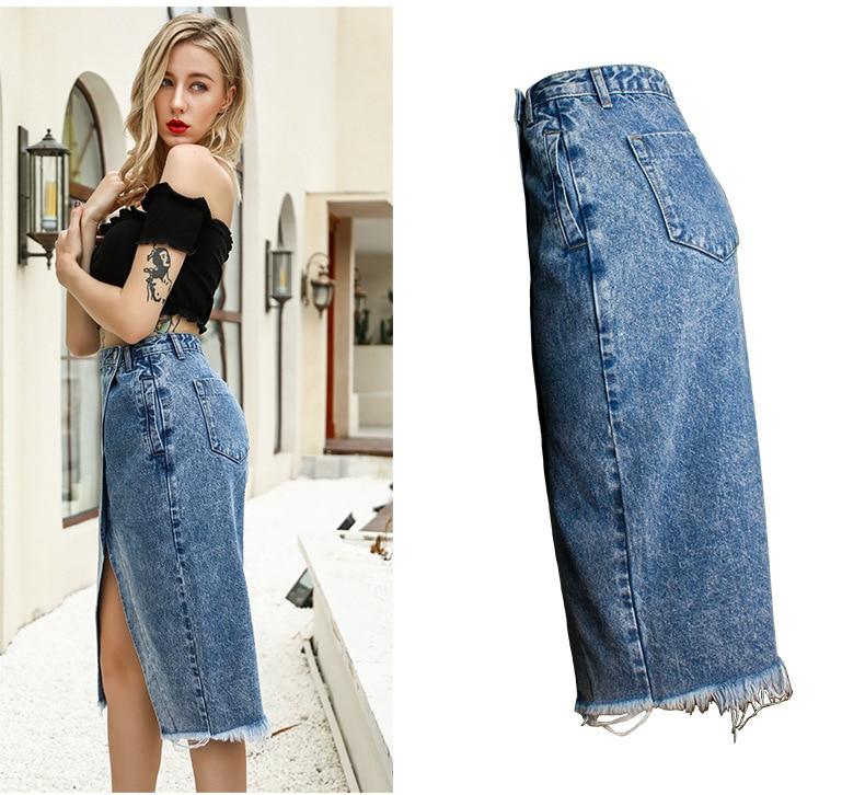 Skirt of female skirt hairline furl furl to wrap hip bull-puncher skirt irregular tassel tall waist skirt of halter MIDI skirt (14)