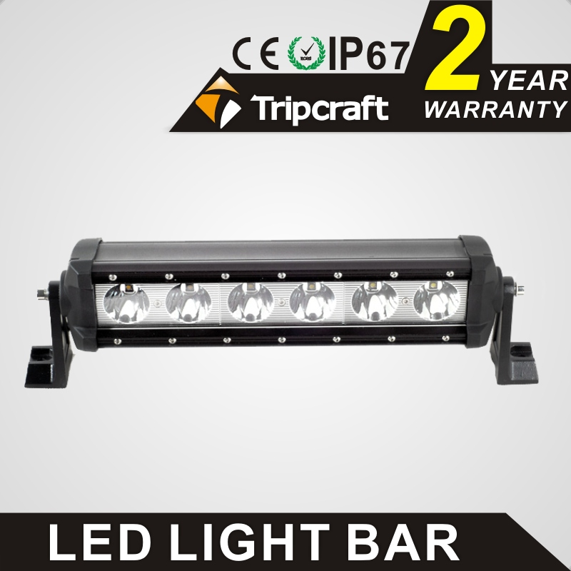 Tripcraft 60w LED work light bar 14.5 single row car lamp for offroad Boat 4x4 truck ATV spot flood combo beam fog light IP67 tripcraft 12000lm car light 120w led work light bar for tractor boat offroad 4wd 4x4 truck suv atv spot flood combo beam 12v 24v