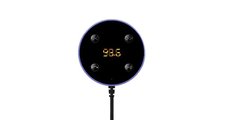 Kit inalámbrico Bluetooth para automóvil Adaptador de receptor de - Electrónica del Automóvil - foto 4