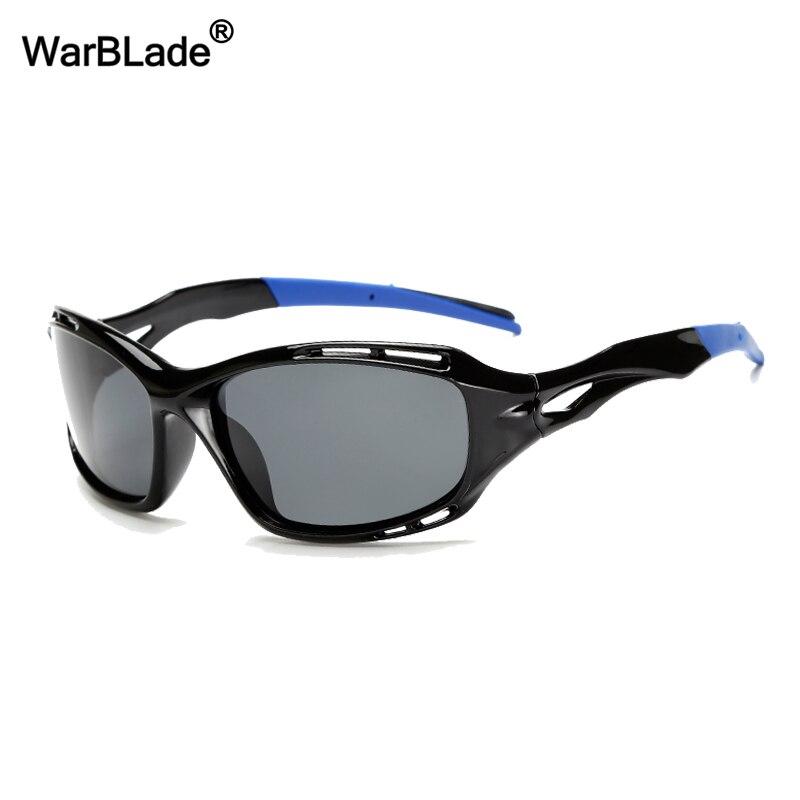2018 Polarized Night Vision Glasses Men Top Quality Male Sunglasses Fishing Sports Eyewear Brand Design Uv400 Men Gafas Warblade