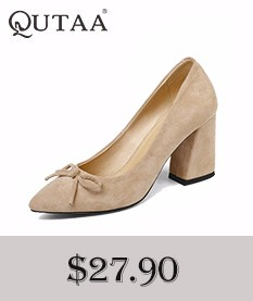QUTAA 2018 Women Ankle Boots Zipper All Match Pointed Toe Thin High Heel Spring And Autumn Shoes ladies Women Boots Size 34-43