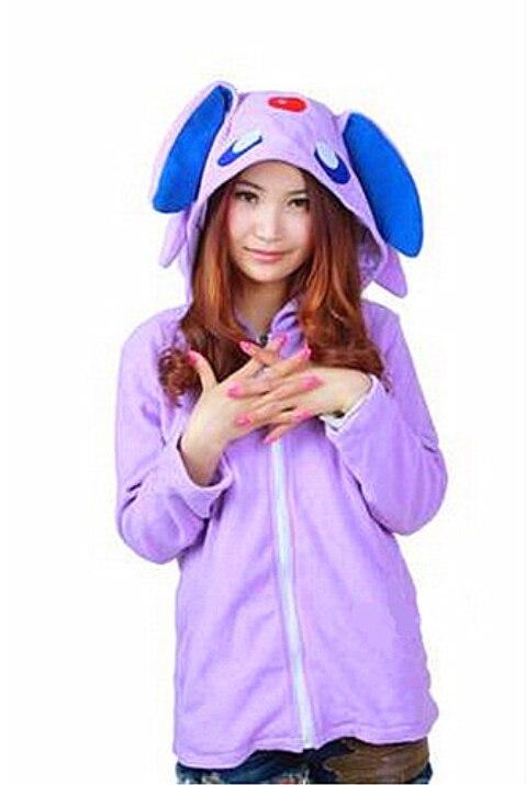 Autumn NEW Sweatshirt Coat Anime Pokemon Umbreon Costume Coat Sweatshirt Hoody Jacket for Unisex