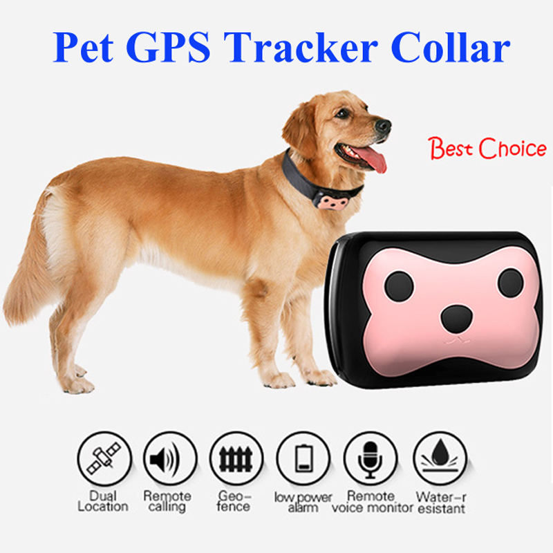 Waterproof Ip Mini Pets Gps Tracker With Collar Rastreador For Pets Dogs Tracking Localizador Chip