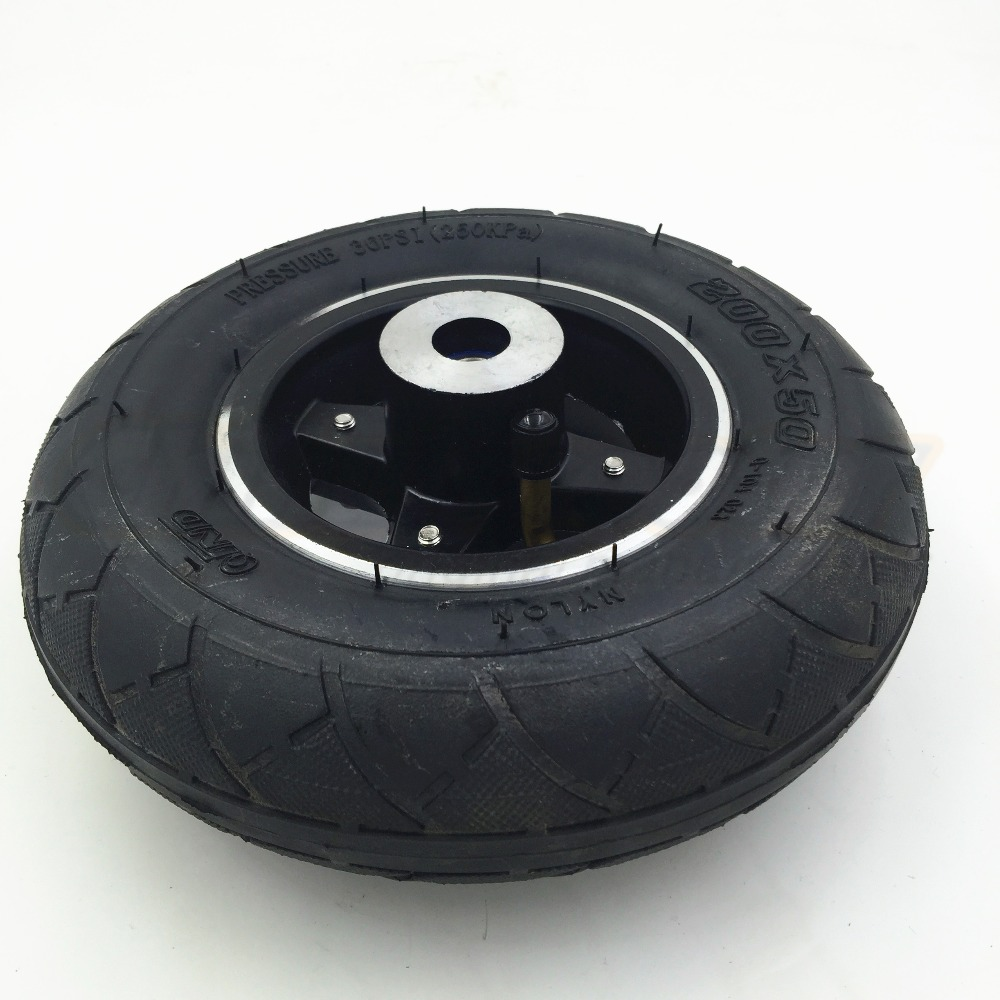 Scooter Wheels 8 inch Scooter Front Wheels 200*50 Kids Scooter Front Wheel with Aluminiu ...