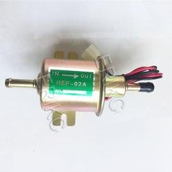 Pompa ERIKC uniwersalna 12v elektryczna pompa paliwa niskie ciśnienie śruba mocująca drut Diesel benzyna Hep 02a do gaźnika samochodowego motocykl w Pompy paliwowe od Samochody i motocykle na