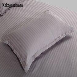 Kekegentleman 2 sztuk/partia 48*74cm poszewka na poduszkę  100% bawełna paskiem poszewka na poduszkę  poszewka w jednolitym kolorze w Poszewka na poduszkę od Dom i ogród na
