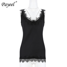 Womens Tops Sexy Lace Tank Top Underwear Sleeveless Ladies Blouses Summer Women Shirt Halter Black Loose Vest Cotton Tee woman