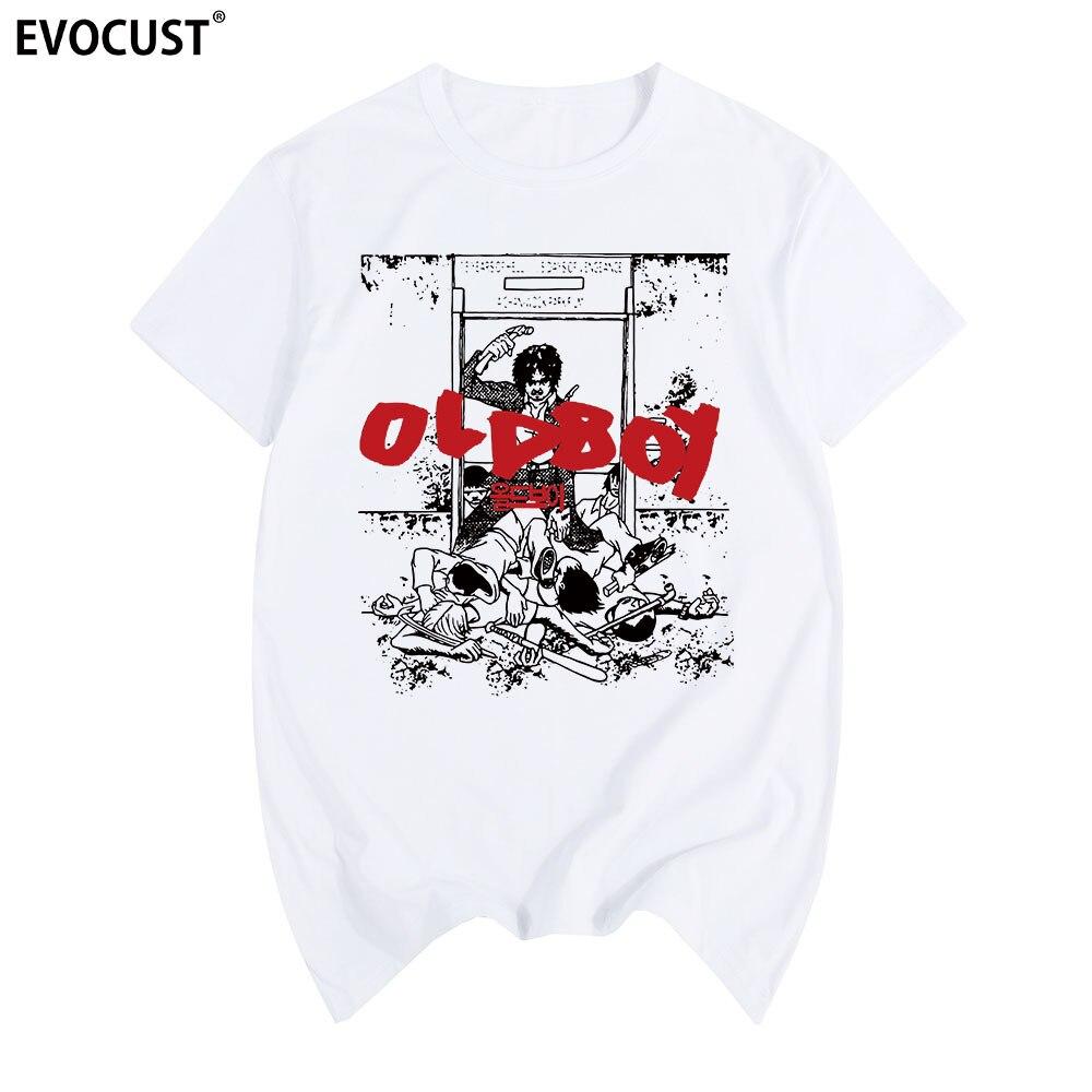 OLDBOY South Korean Movie T-shirt Cotton Men T Shirt New Women Summer