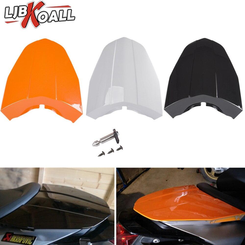 For KTM 690 Duke Ktm690 2013 2014 2015 Rear Tail Pillion Solo Seat Cover Cowl Fairing Motorcycle Accessories Orange White Black