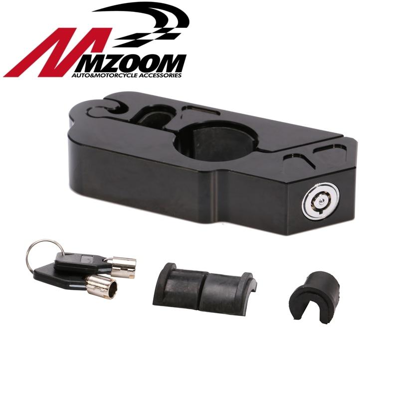 Motorcycle Handlebar Lock Clutch Brake Lock Security Lock Anti-theft Locks for Honda Kawasaki Yamaha Piaggio KTM