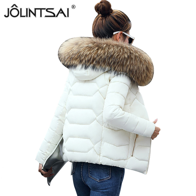 dames jassen winter bontkraag