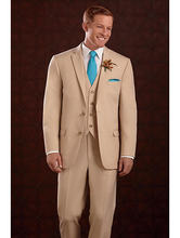 10ff73276 High Quality 3 Piece Suits Champagne-Buy Cheap 3 Piece Suits ...