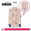Dispalang anti-dust elastic 18-30 inch luggage protective cover suitcase rain cover floral print portable travel accessories