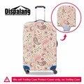 Dispalang anti-poeira elástica 18-30 polegada bagagem mala tampa protetora capa de chuva da cópia floral acessórios de viagem portátil