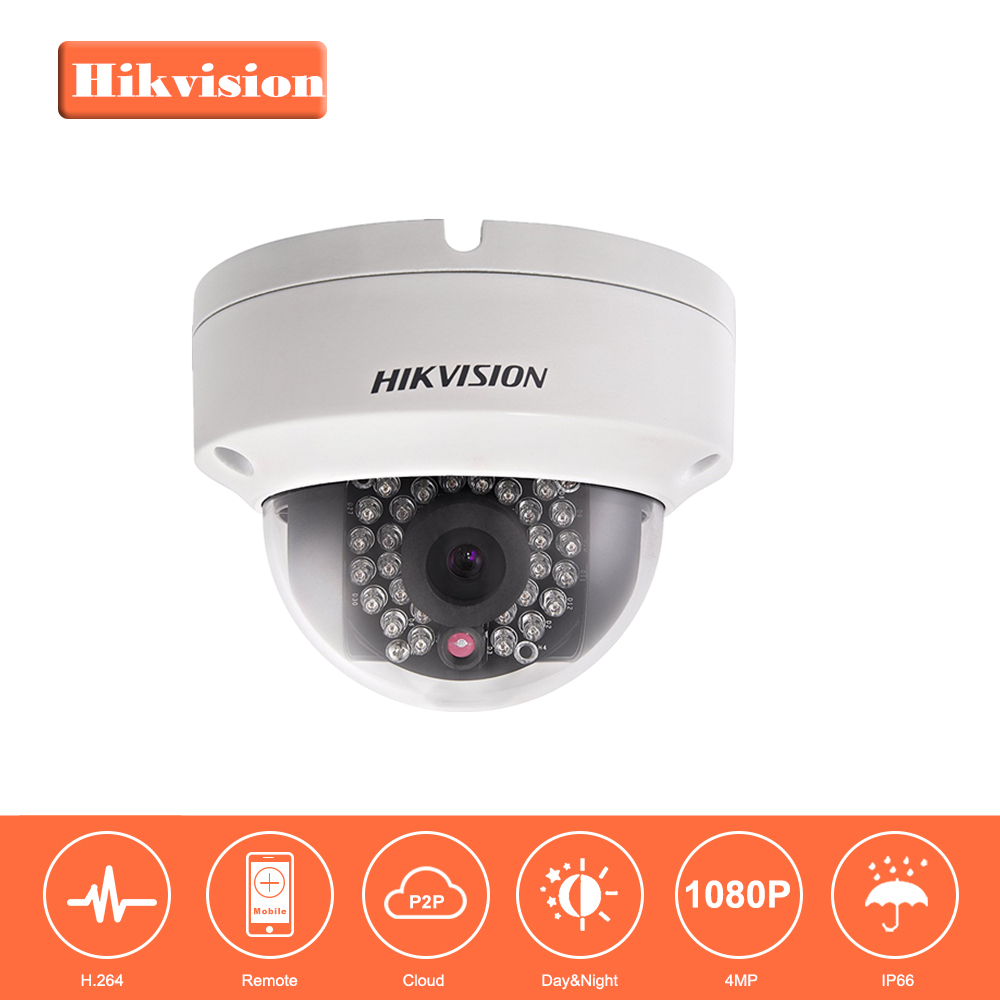 Original HIKVISION CCTV Camera DS-2CD2142FWD-I substituir DS-2CD3145F-IS DS-2CD3145F-I, DS-2CD2132-I 4MP Câmera Dome IP Da Rede