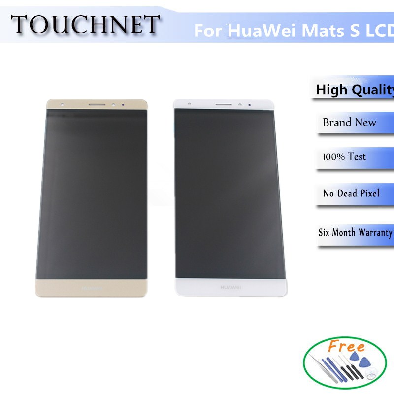 For Huawei Mate S LCD Display Touch Screen Digitizer Assembly Without Frame