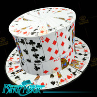 Card To Top Hat FREE SHIPPING King Magic Trick Magia Magie