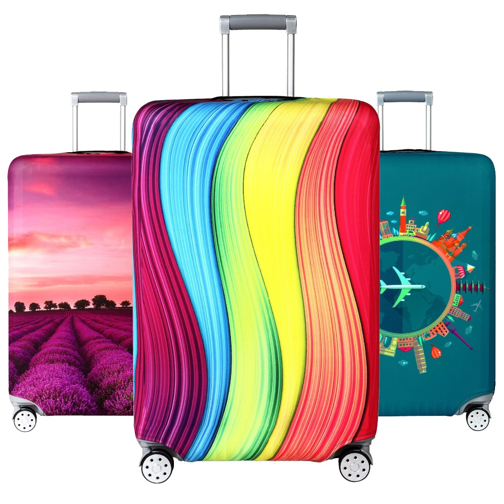 Luggage-Cover Case Trolley Bag Protective Travel Elastic Dustproof For 18-32inch