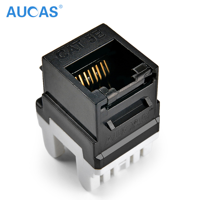 AUCAS 4pcs/lot Industrial Grade anti dust cat5e rJ45 Punch Down ...