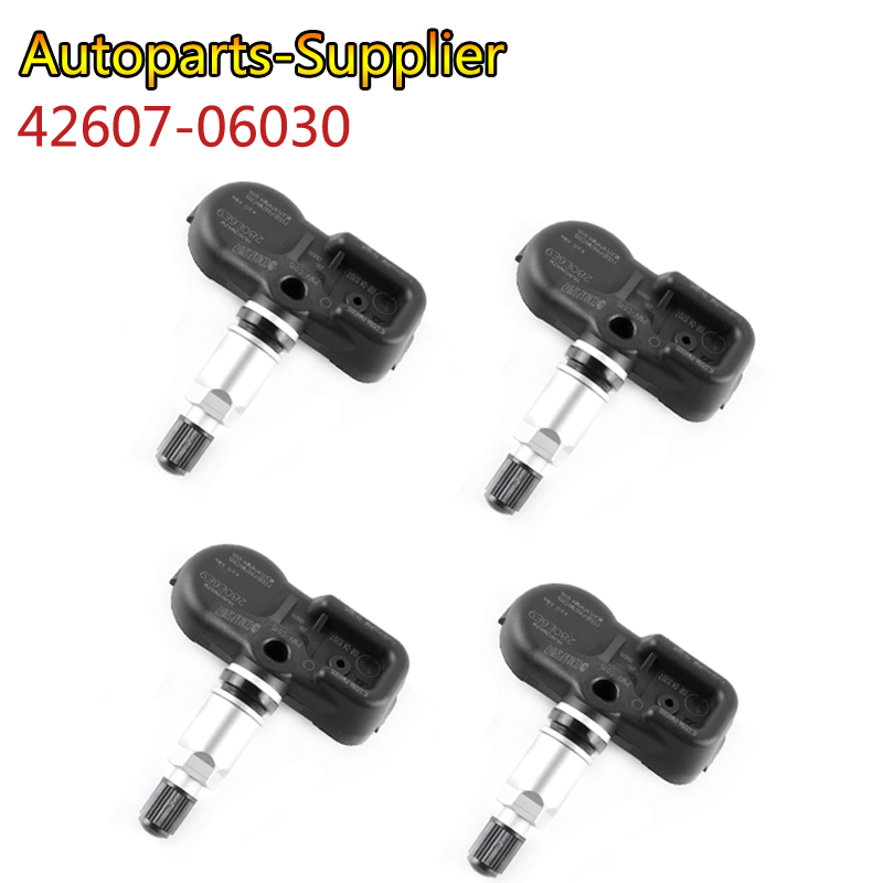 4 Pcs/Lot 315MHz TIRE PRESSURE MONITOR SENSOR TPMS For TOYOTA CAMRY TACOMA AVALON 42607 06030 42607 48010 42607 0E020 PMV C015-in Pressure Sensor from Automobiles & Motorcycles