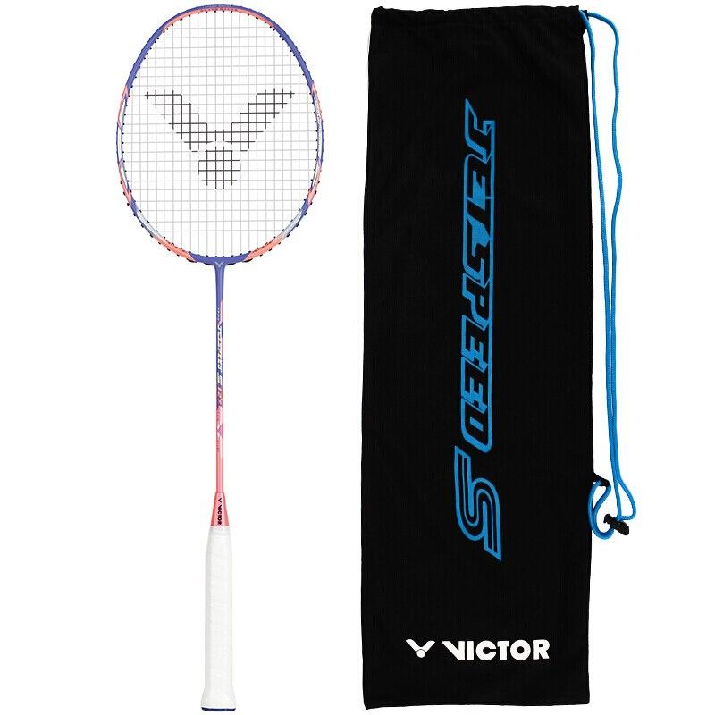 Badminton KüHn Echte Victor Volle Carbon Professionelle Badminton Schläger Angriff Typ Js-12f Raquette Badminton Malaysische Nationalen Verwendet