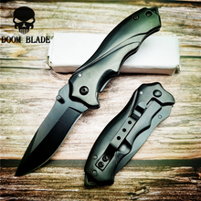 157mm 5CR15MOV Blade Knives Folding Knife High Quality Pocket Knives Tactical Survival Tool Folder Blade with Waist Clip EDC round slitter knives circular shear blade