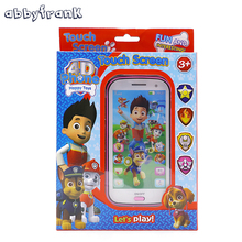 Abbyfrank Learn English Baby Toy Phone Kids Mobile Toy with Song Light Story Telling Educational Learning
