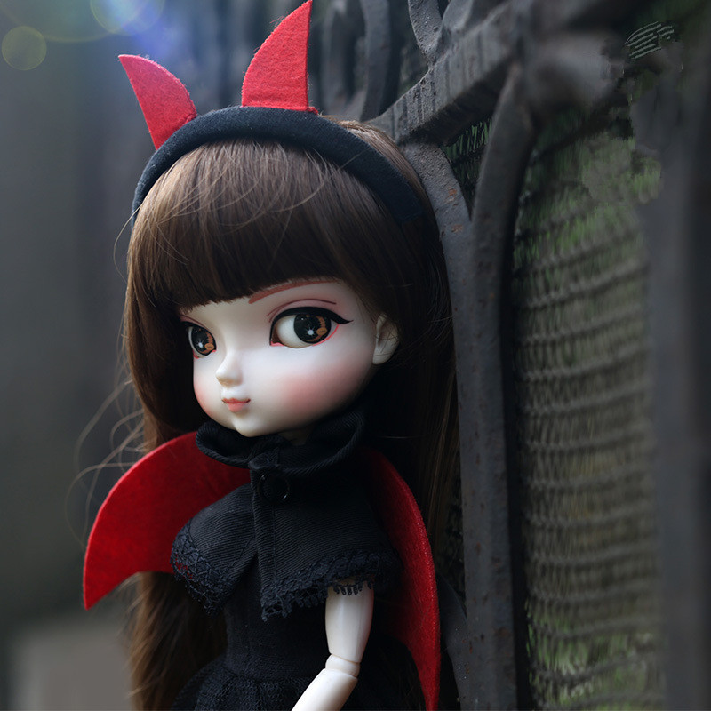 BB GIRL 35cm Fashion Blyth Doll for Bjd 6 Points Joint Costume Doll with Dress Long Hair can Make up DIY Dolls Toys for Girls стоимость
