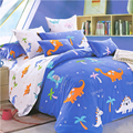 100% Cotton sheets for children baby bedding set 3 pcs kids bedding quilt cover + two pillowcases