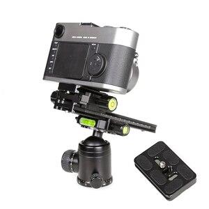 Image 4 - XILETU Kit de placa de liberación rápida LSB 18B, Riel de trípode de diapositivas Nodal de 180mm, accesorio de fotografía Universal multifuncional