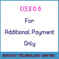 Extra Cost USD1 - For Additional Payment Use Only