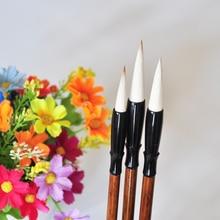 3 шт./набор, китайская кисть для каллиграфии, кисть для рисования, акварельная кисть, ручка, художественная поставка, для школы, офиса, стационарный подарок