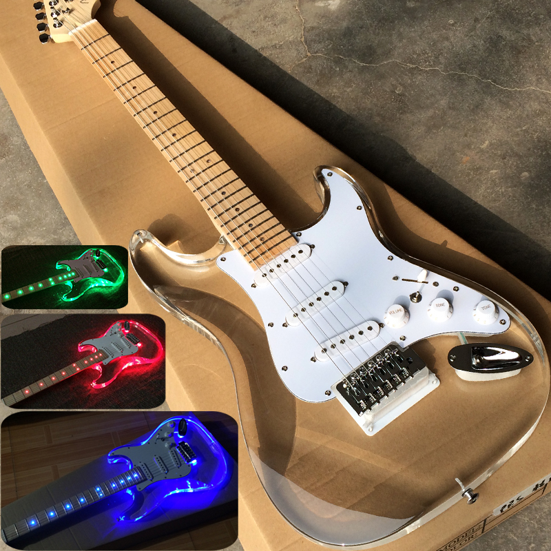 accept custom any wood any style electr electric guitar guitarra 6 string picea built in tuner. Black Bedroom Furniture Sets. Home Design Ideas