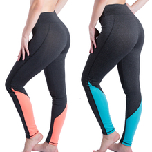 Pink and Blue Fitness Leggings