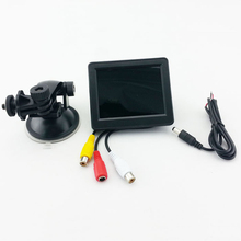 2018 Auto Parts Car Monitor High Quality 3.5 Inch HD Black