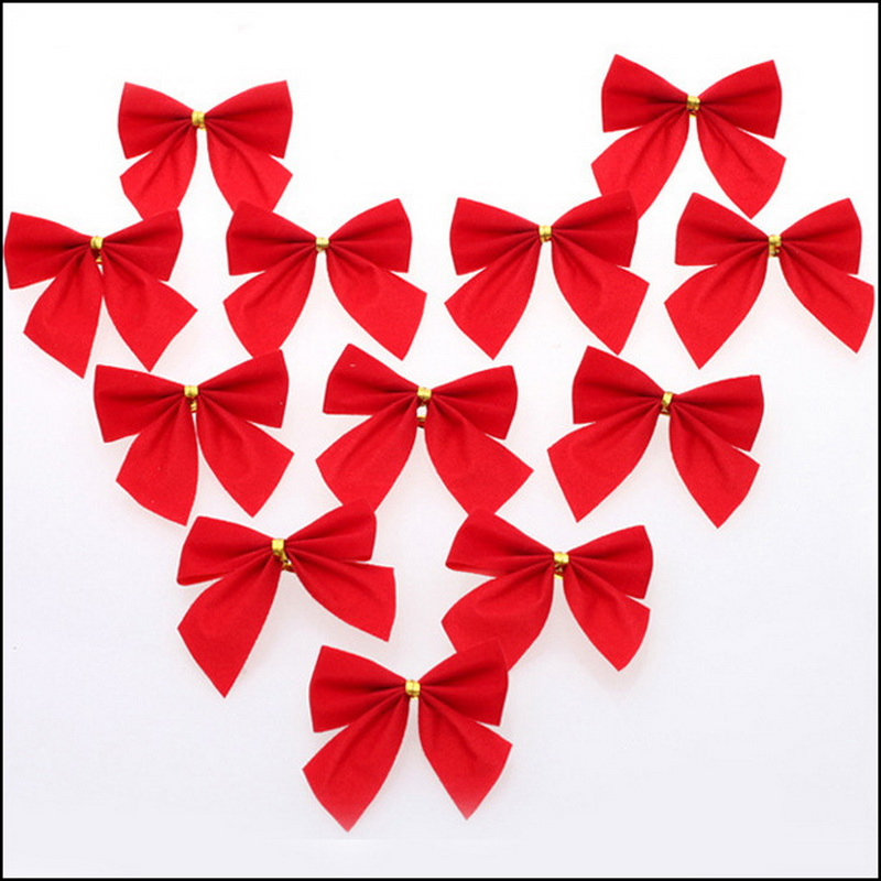 By DHL Or EMS 10000 Pcs Christmas Tree Bow Decoration