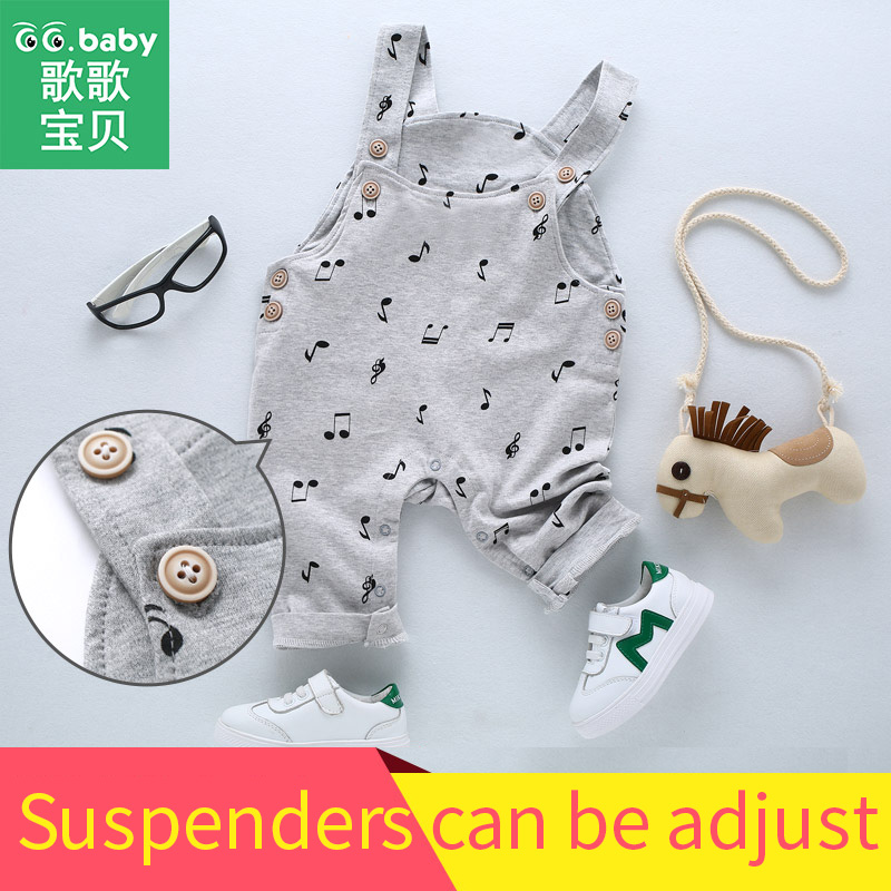 0b4caccc5341 New Born Baby Boys Pants Girls Cotton Autumn Newborn Suspender ...