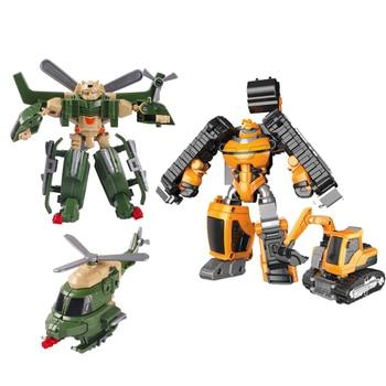 Nuevo Tobot 7 En 1 Transformación Robot Juguete Anime Tobot