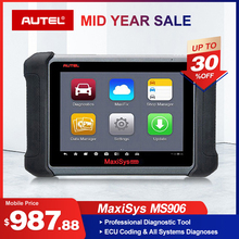 Autel Maxisys MS906 Automotive Diagnostic Scanner Scan Tool Code Reader (Upgraded Version of DS708 and DS808) with OE-level