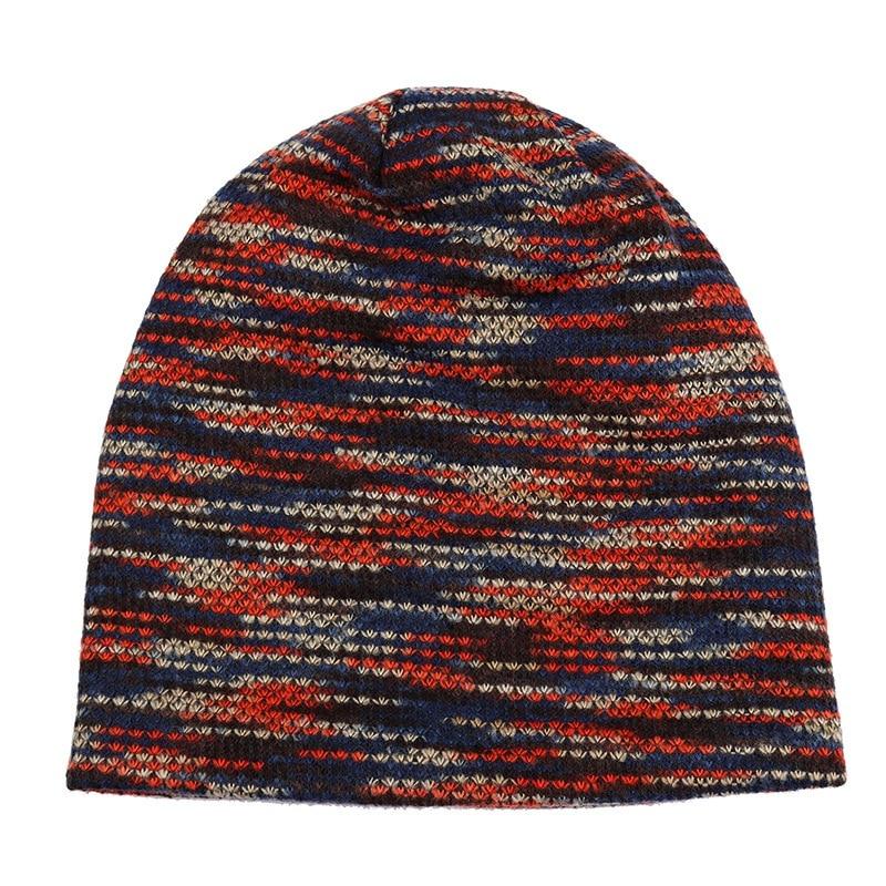 Hats And Cap Men Knitted Winter Cap   Beanies   For Men Hip-Hop Slouch   Skullies     Beanie   Bonnet Unisex Hat Gorro Winter Hats For Wom