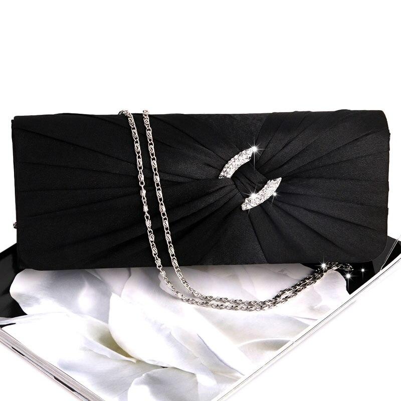 Evening Handbag Purse Women Bling Rhinestone Bridal Shoulder Clutch Bag Chain