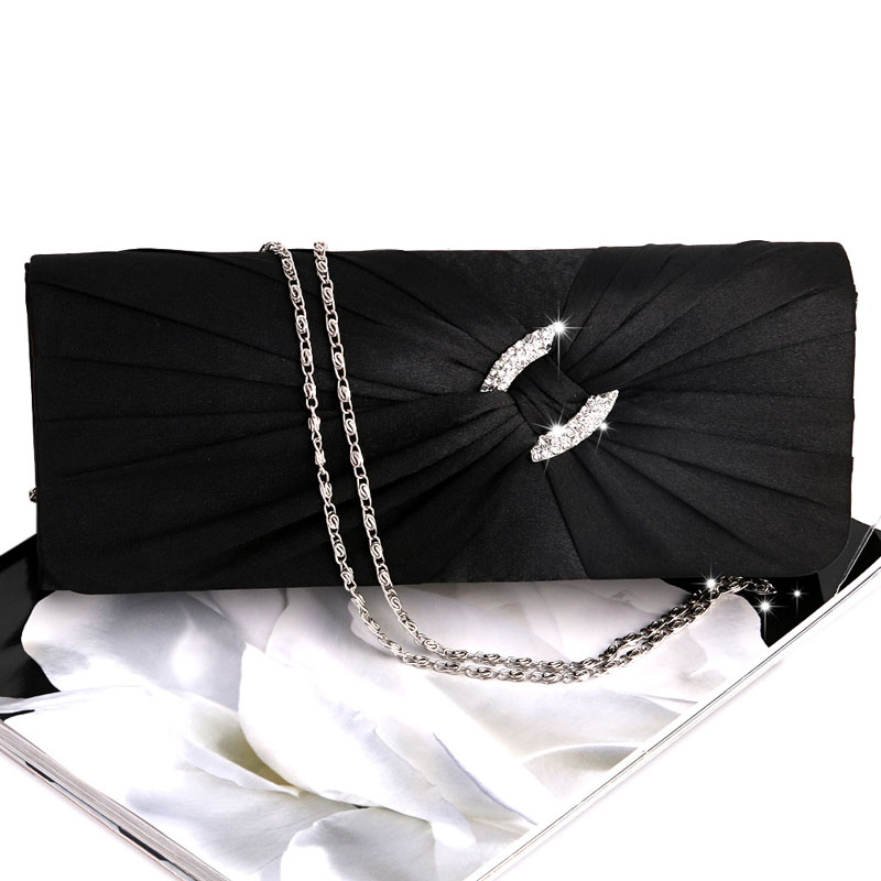Evening Handbag Purse Women Bling Rhinestone Bridal Shoulder Clutch Bag Chain  Evening Handbag Purse Women Bling Rhinestone Bridal Shoulder Clutch Bag Chain