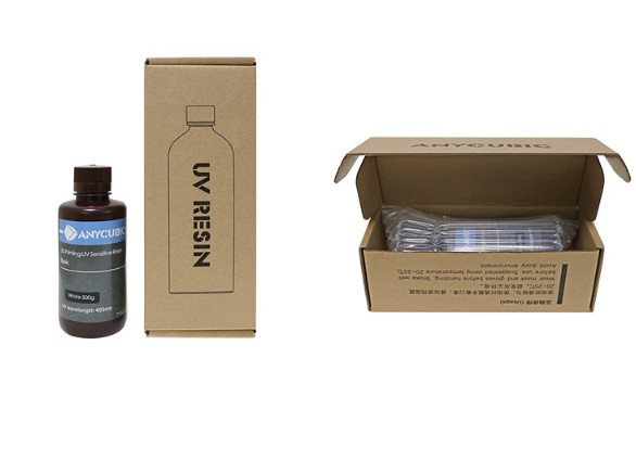 Anycubic SLA UV 3D Printer Resin/Consumables/Photosensitive Of 500g/1000g Model 2