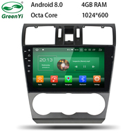 GreenYi 9 Inch Android 8 0 8 Core 4G RAM Car DVD GPS For Subaru WRX