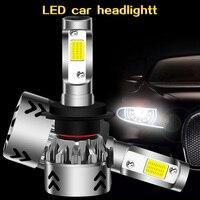 mini car headlight bulbs 9600LM CREE XHP50 super led chip 12V 6000k h7led h1 h3 h4 9005 9006 fog light
