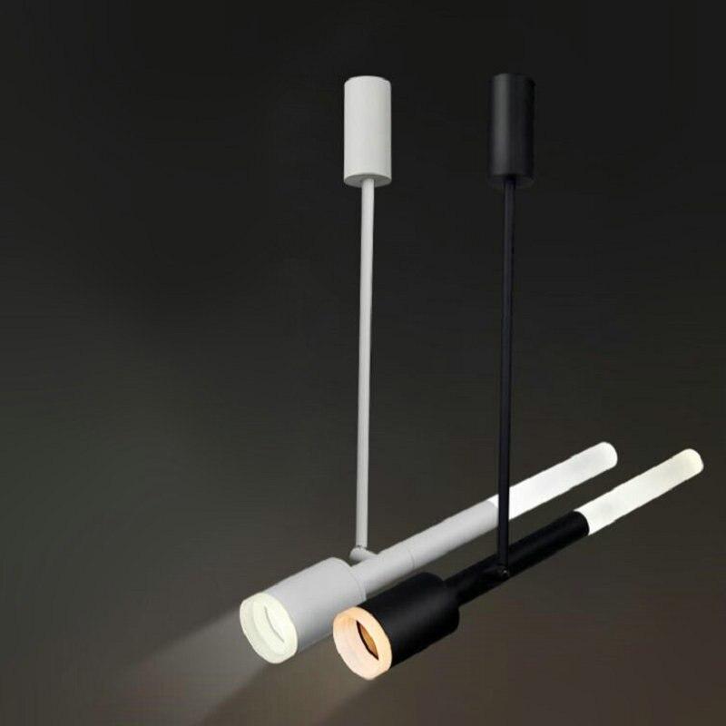 2 fils 15W COB LED piste lampe Soptlight suivi lumière LED AC110V/AC220V-240V