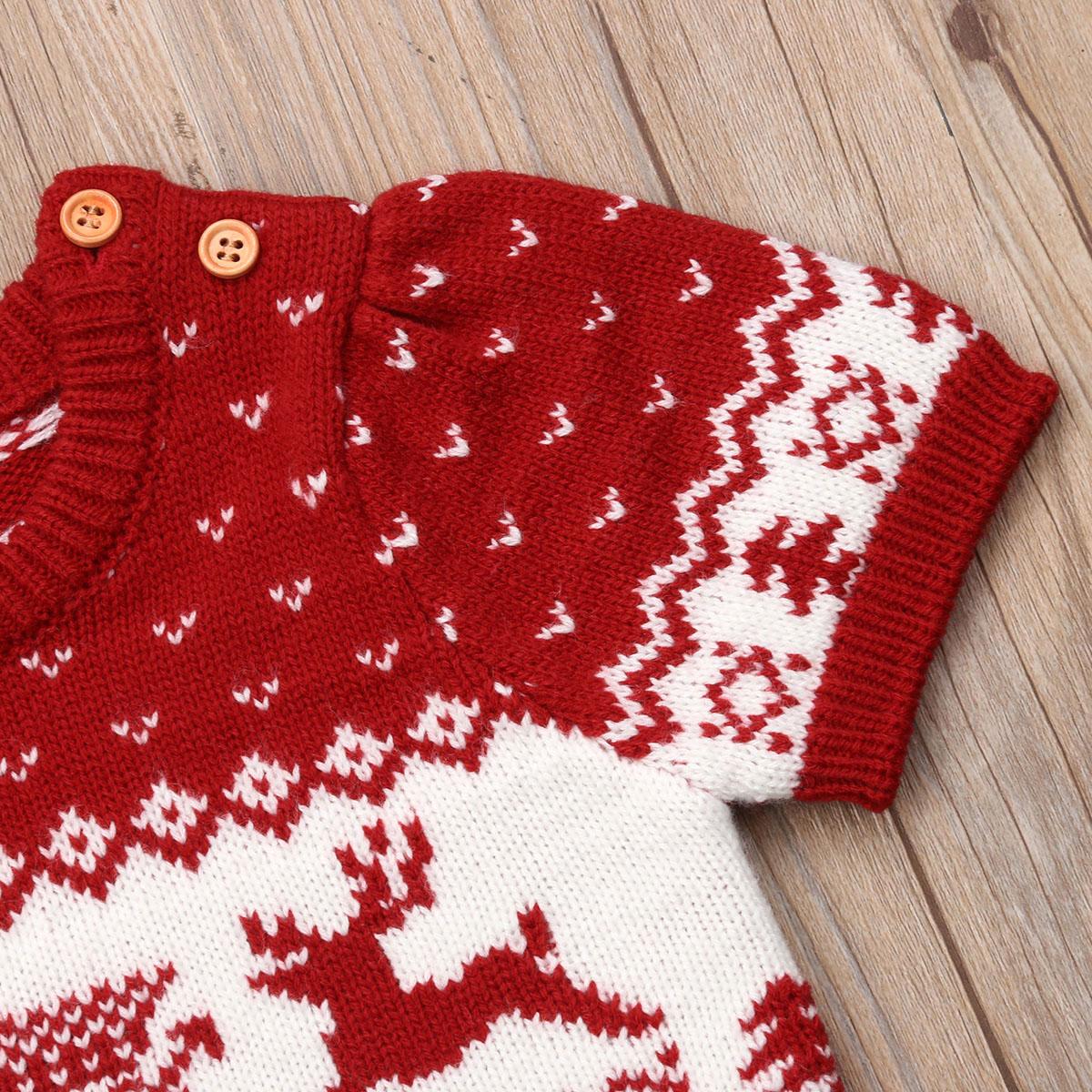 Acheter 2018 Pull De Noël Pour Les Filles Bambin Enfants Bébé Filles