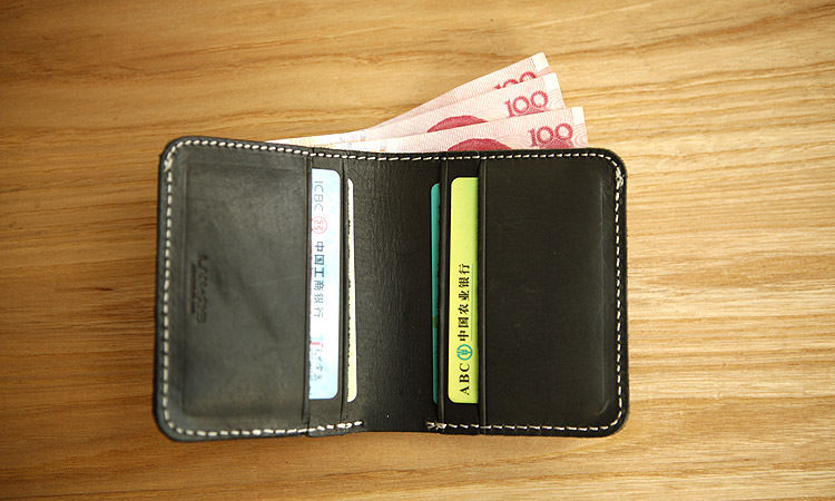 LAN real leather mens handmade short calfskin Wallet cowhide wallet fashion leather wallet