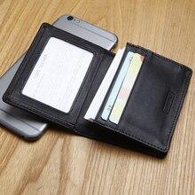 LAN original men's name card case genuine leather credit card case wholesale credit card case