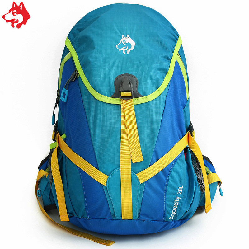 28L Green/Orange/Blue children hiking rucksacks  wholesale small waterproof outdoor women climbing trekking camping backpack